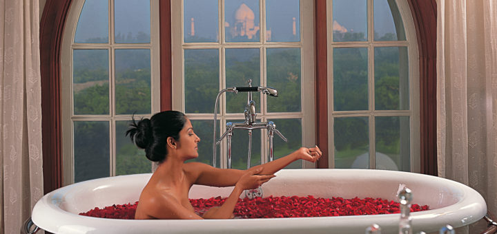 Spa center «Amarvilas Spa» at the hotel «The Oberoi Amarvilas» in Agra