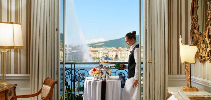 "The best Geneva hotels – a designer boutique hotel ""Hotel d'Angleterre"""