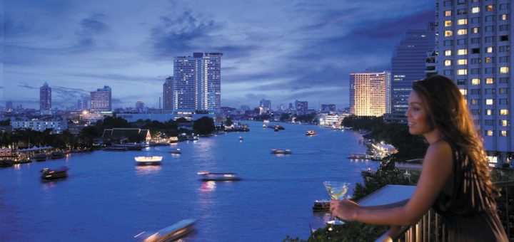 "Bangkok 5-star hotels – a chain hotel ""Shangri-La Hotel Bangkok"" (Hotel group Shangri-La Hotels)"