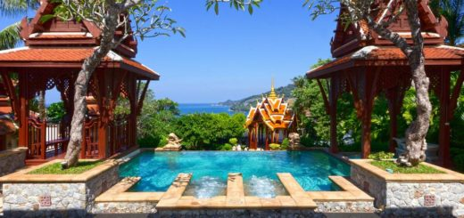 The best Patong hotels with a fitness center and SPA – Diamond Cliff Resort & Spa