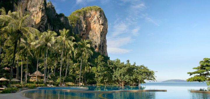"""The best 5-star Krabi hotels – """"Rayavadee"""", a hotel with private beach"""