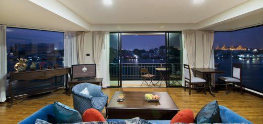 Bangkok boutique hotel near the pier with panoramic views of the Chao Phraya River - Baan Wanglang Riverside